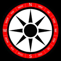 Szablon tła róży wiatrów wersja 3