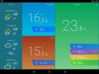 ARCHOS Weather Station - aplikacja 1