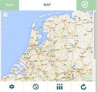 Ventus W920 Lonobox - aplikacja (mapa, kierunek wiatru)