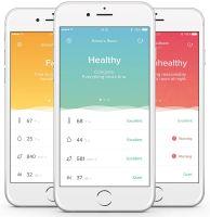 Aplikacja Healthy Home Coach na smartfonach