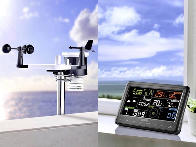 EUROCHRON EFWS2900 - czujnik i stacja pogodowa w domu
