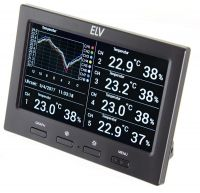 Stacja pogodowa ELV RS500 - konsola z przodu