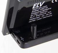 Stacja pogodowa ELV RS500 - konsola z tyłu