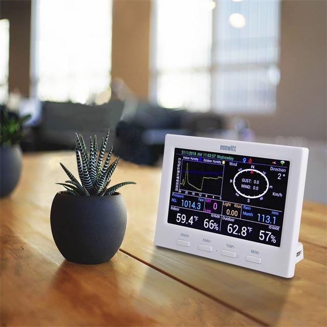 Stacja pogody typu HP3500 - w domu