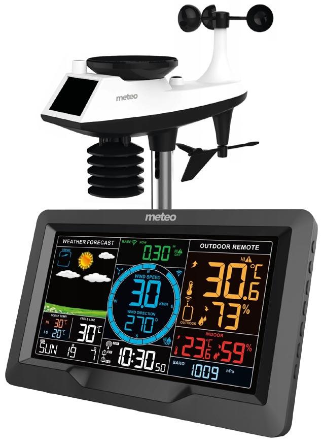 Stacja pogodowa METEO SP89 - konsola i czujnik