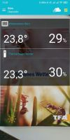 Aplikacja TFA VIEW (Android) - widok 2
