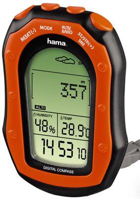 Stacja pogody Hama KW-20 z cyfrowym kompasem