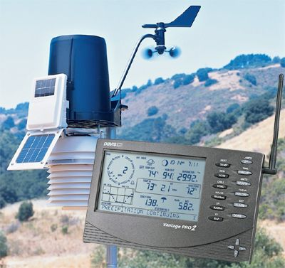 Stacja pogody Davis Instruments Vantage Pro2 z FARS