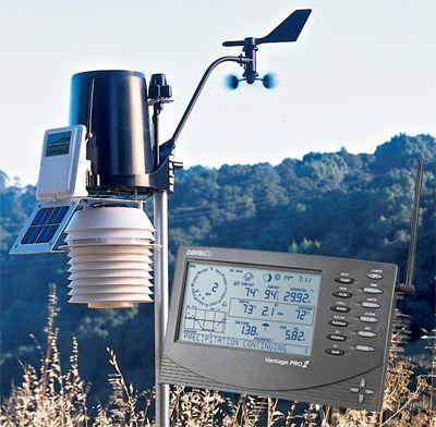 Stacja pogody Davis Instruments Vantage Pro2 Plus z FARS + WeatherLinkIP