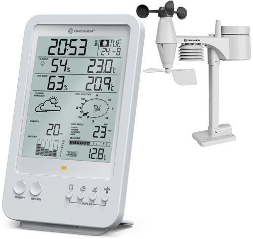 Stacja pogody Bresser Weather Center 5-in-1 (7002510, 7002511)