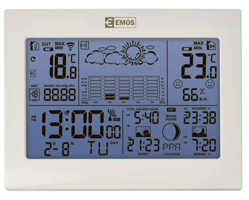 Stacja pogody EMOS E8835