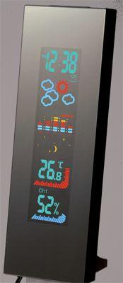 Stacja pogody EVOLVE Crystal EMC427