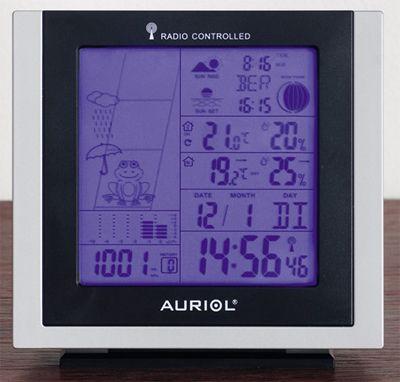 Auriol метеостанция инструкция