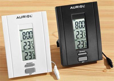 Stacja pogody AURIOL H4286A i H4286B