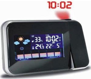 Stacja pogody Digi-Tech Farb Wetterstation mit Funk Projektionsuhr