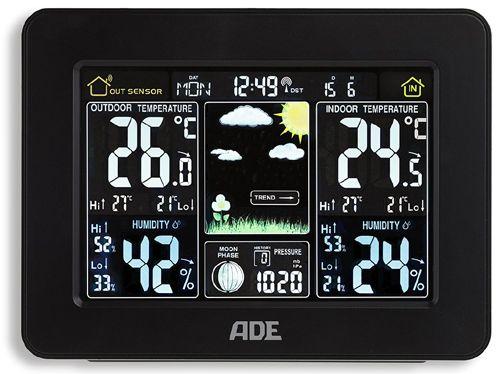 Stacja pogody ADE WS 1502, WS 1503