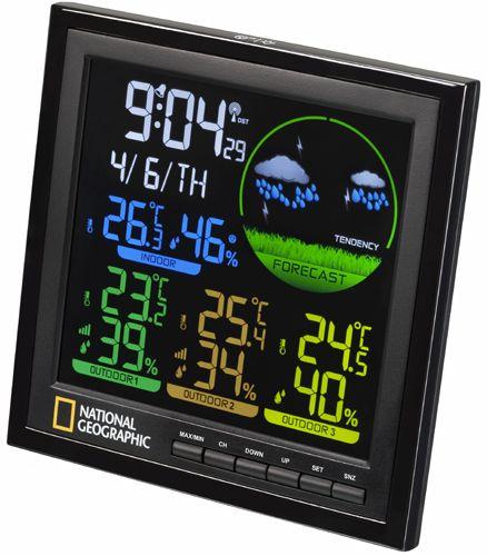 Stacja pogody National Geographic VA colour LCD (9070700)