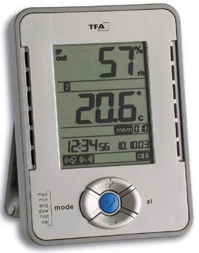 Stacja pogody TFA Dostmann Klima Logger